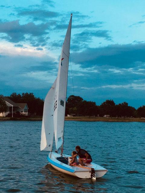 Vanguard 15, 2002 sailboat