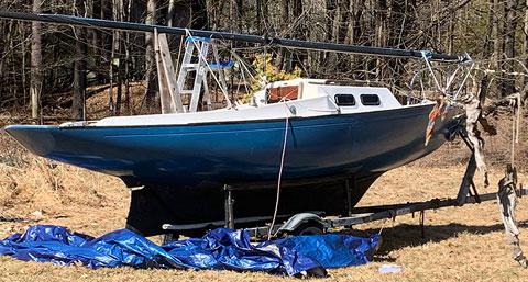 Victoria 18, 1984 sailboat