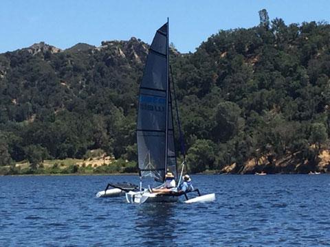 Weta Trimaran, 2017 sailboat