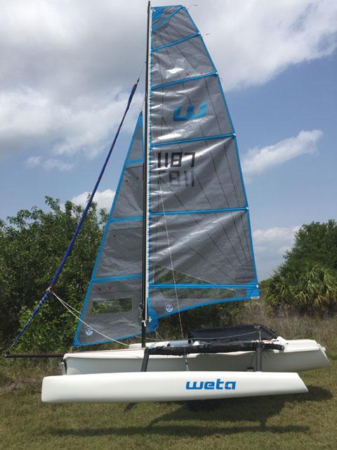 Weta 2018 sailboat