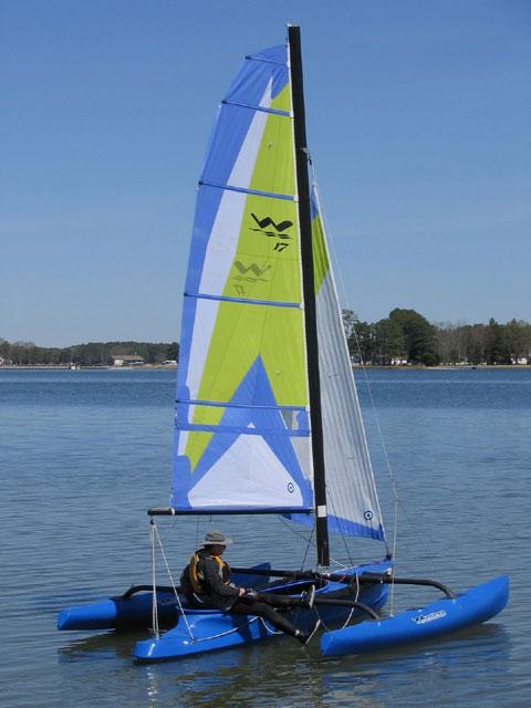 Windrider 17', 2005 sailboat