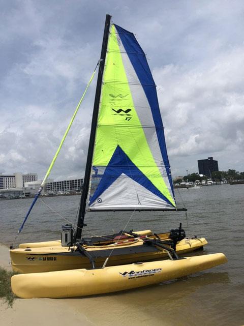Windrider 17, 2015 sailboat