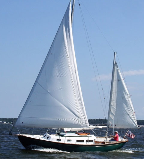 Allied Seawind 30, 1967 sailboat