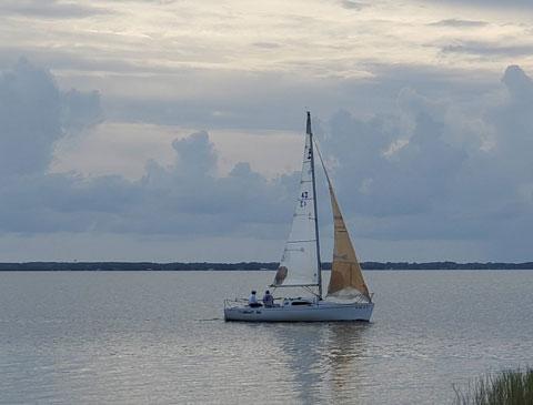 B 25, 1994 sailboat