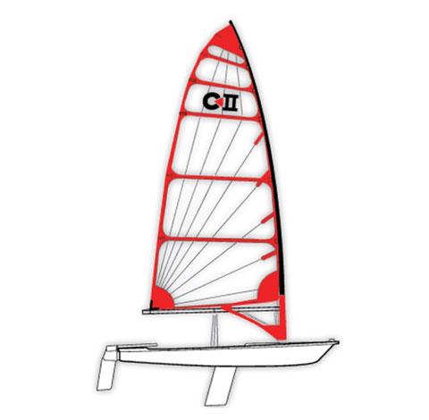 Byte C-II Dinghy sailboat