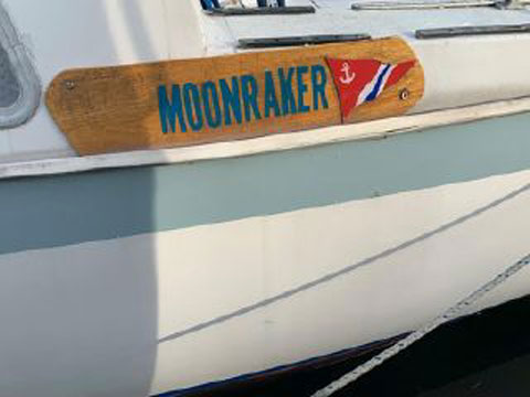 CAL 25, 1965 sailboat