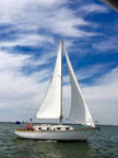 1987 Cape Dory 28 sailboat