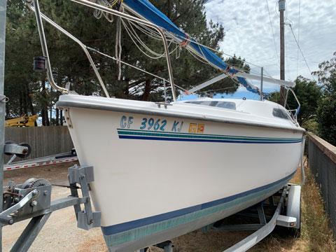 Catalina 250, 1998 sailboat