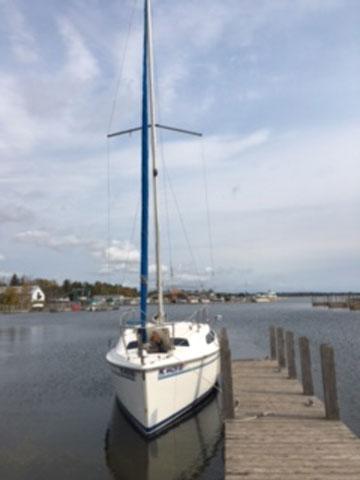Catalina 250, 1995 sailboat