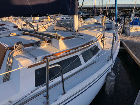 Catalina 28 Mk1, 1993 sailboat
