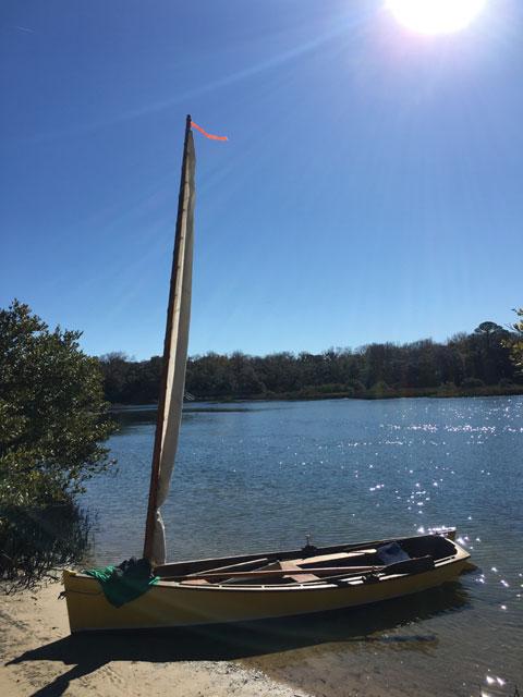 Chesapeake Bay Crabbing Skiff, 2003 sailboat
