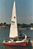 Chrysler Pirateer, 13ft., sailboat