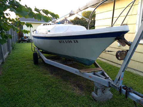 Clipper Marine 21, 1971 sailboat