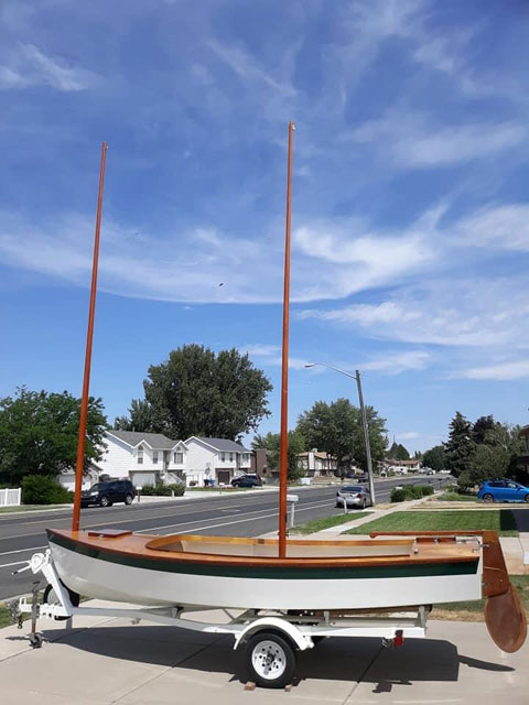 Core Sound 17, sailboat