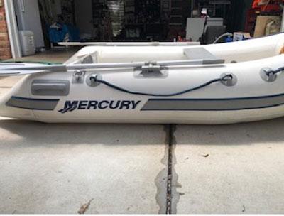 8' Mercury air floor inflatable sailboat