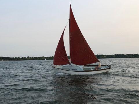Drascombe Drifter, 1978 sailboat