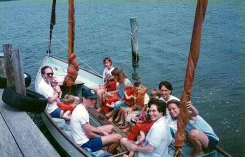 Drascombe Longboat, 1979 sailboat