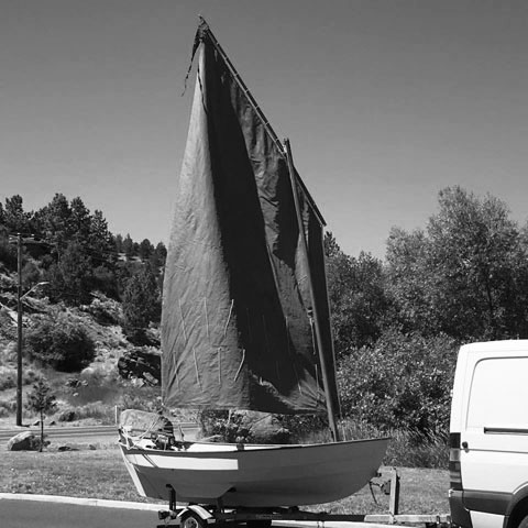Drascombe Scaffie, 1984 sailboat