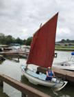 1984 Drascombe Scaffie sailboat