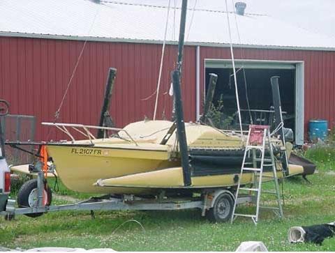 Eagle Tramp 20 trimaran, 1984 sailboat