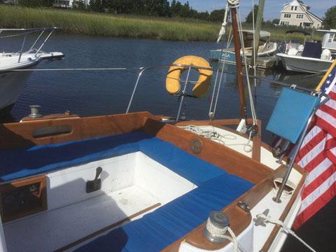 Eastward Ho, 24 ft., 1975 sailboat