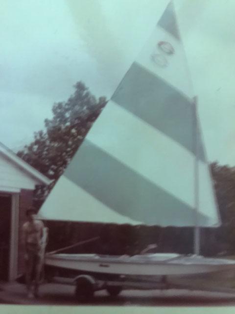 Glastron Alpha 1  15 ft, 1971, sailboat