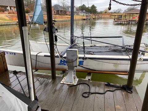 Hobie Catamaran, 18 ft., 1983 sailboat