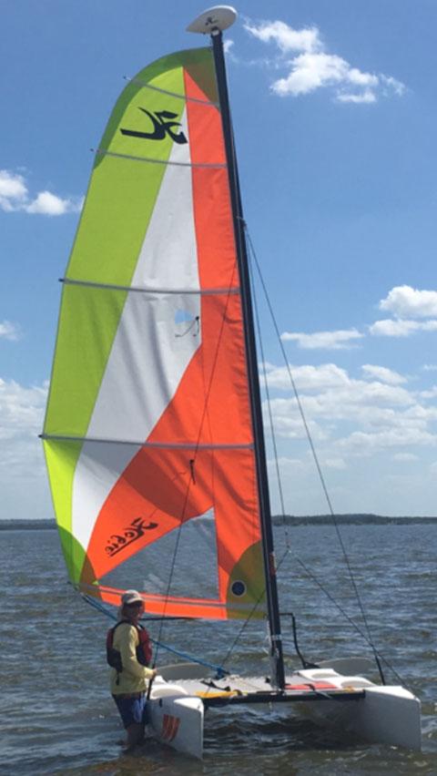 Hobie Wave catamaran, 2017 sailboat