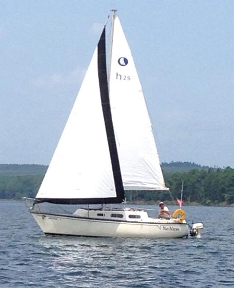 Hunter 25 Cherubini, 1977, sailboat