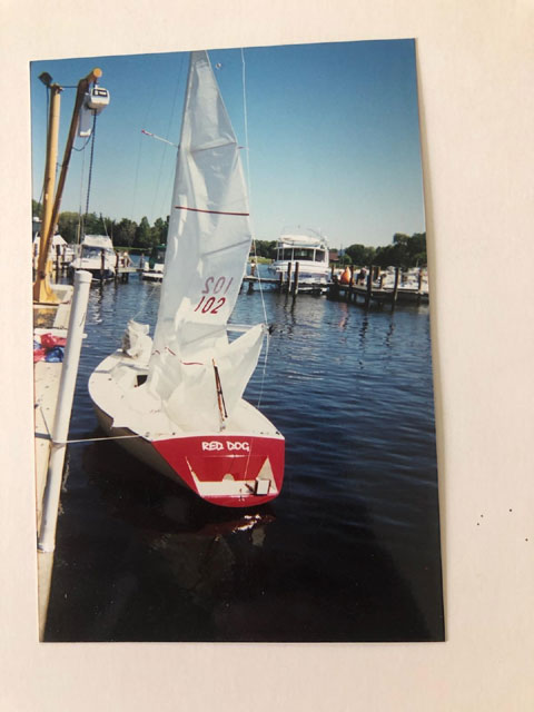 Impulse 21 with trailer sailboat