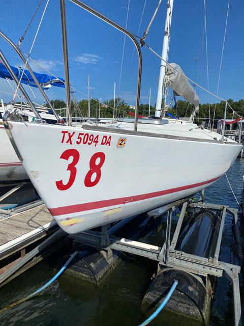 J-24, 1980 sailboat