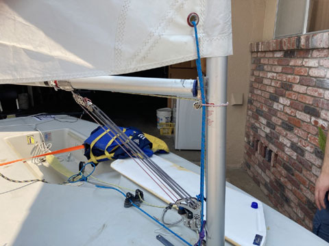 Laser, 14 ft., 1993 sailboat