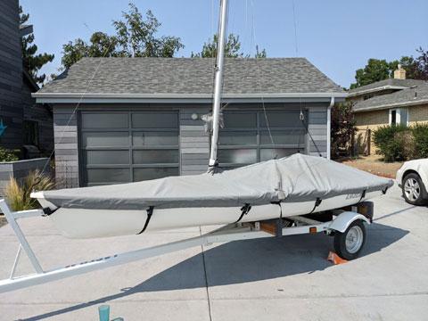 Laser II, 1986 sailboat