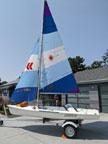 1986 Laser II sailboat