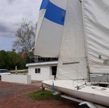 E Scow, 1977 sailboat