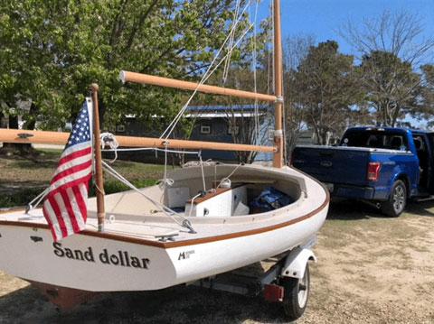 Menger 15 Catboat, 2003 sailboat