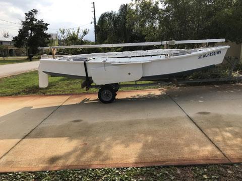 Michalak Mikesboat, 17 ft., 2016 sailboat