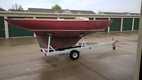 Minuet 18, 1975 sailboat