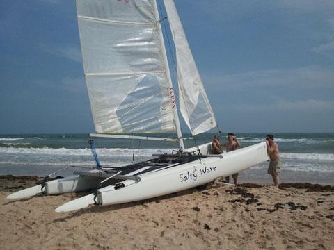 Nacra Inter 20, 2001 sailboat