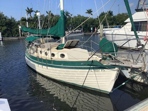 Nor'Sea 27, 1984 sailboat
