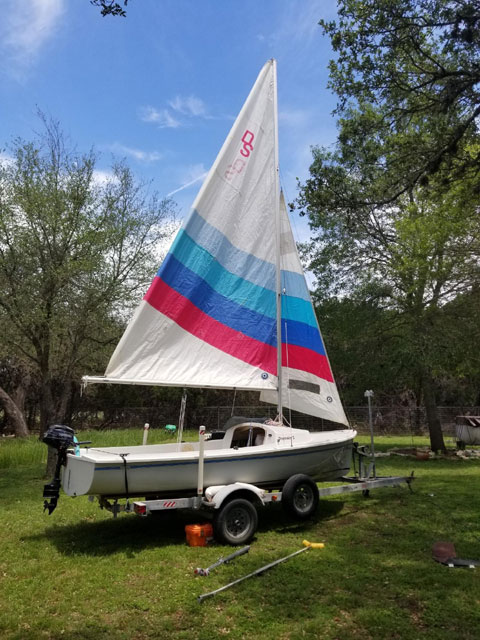 Oday daysailor III, 17 ft., 1987 sailboat