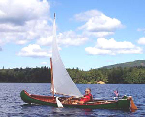 Old Town Ideal Canoe, 1917 sailboat