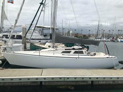 Olson 25, 1984 sailboat