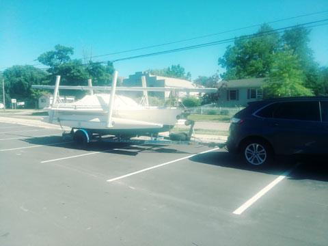 Ostac Tramp trimaran, 1990 sailboat