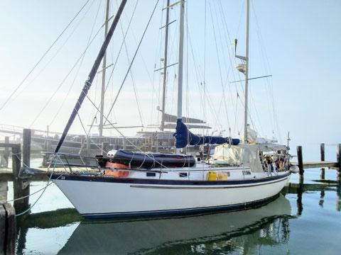 Pearson 365 ketch, 1980 sailboat