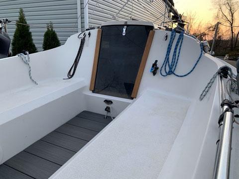 Precision 18, 1989 sailboat