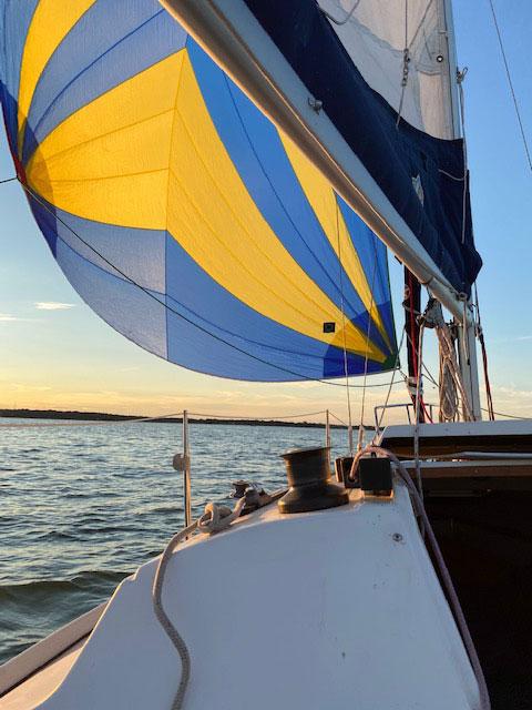 Precision 23, 2001 sailboat