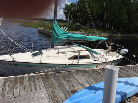 Precision 23, 1989 sailboat