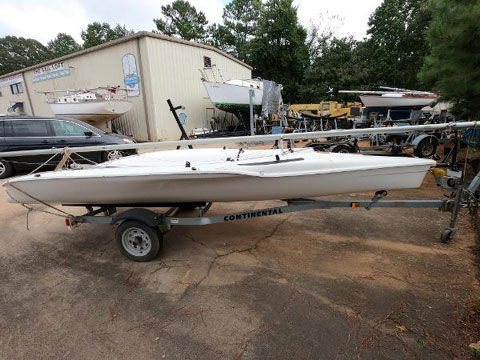 Raider 16, 2014 sailboat