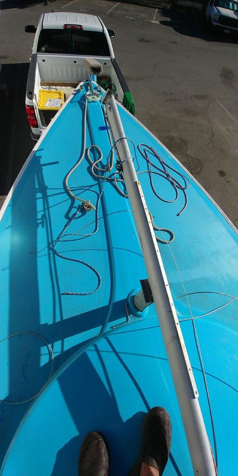 Rhodes 19, 1965 sailboat